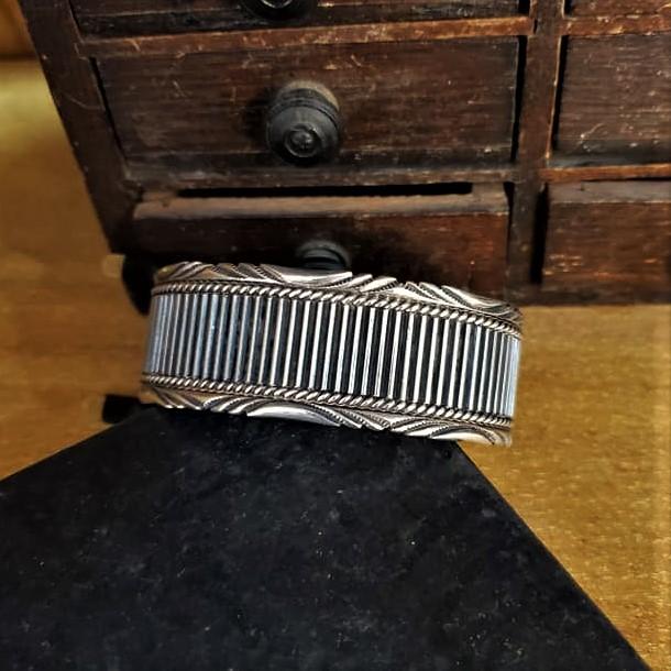 Navajo D Clark Cuff Bracelet