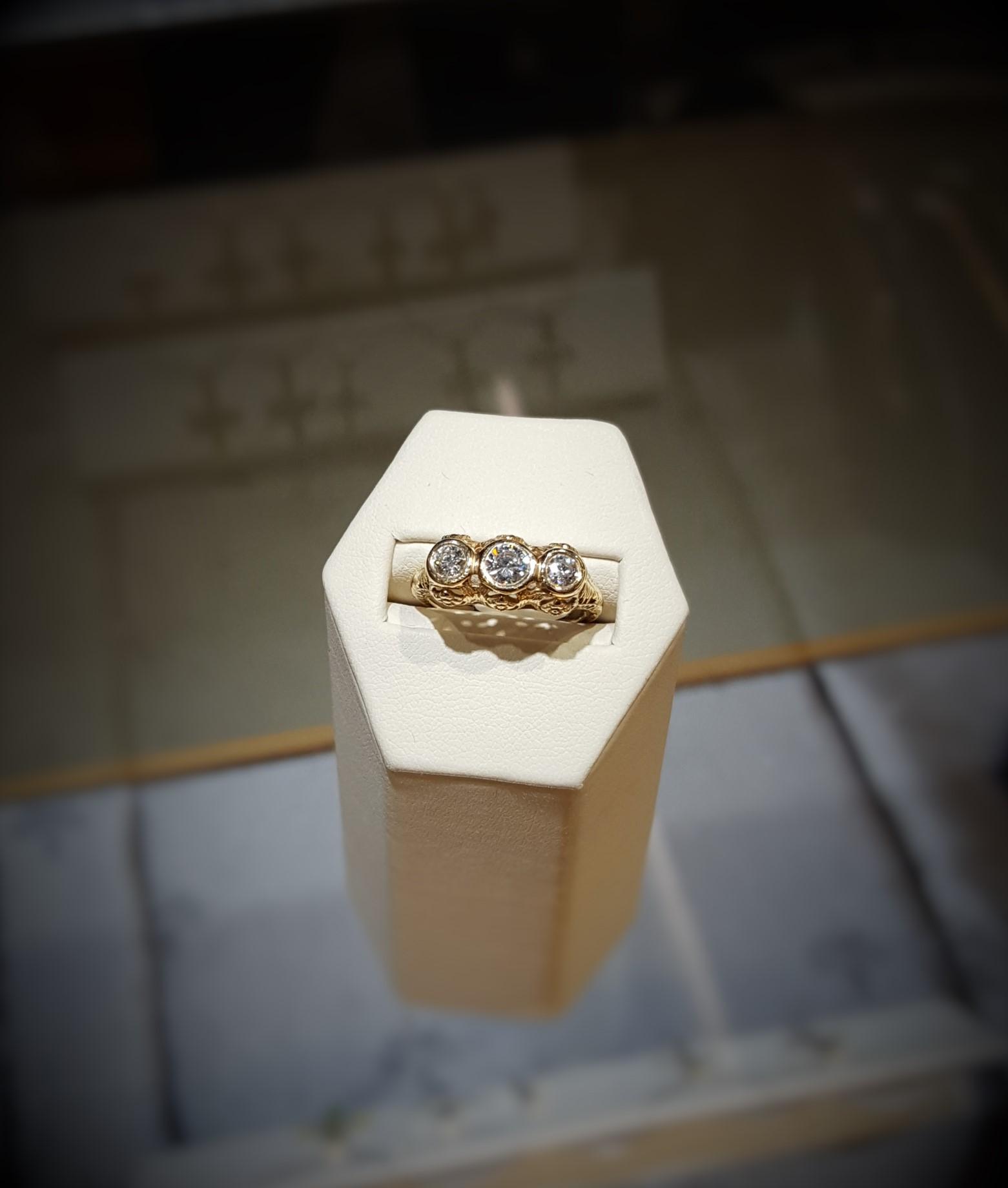 Antique .75ctw Engagement