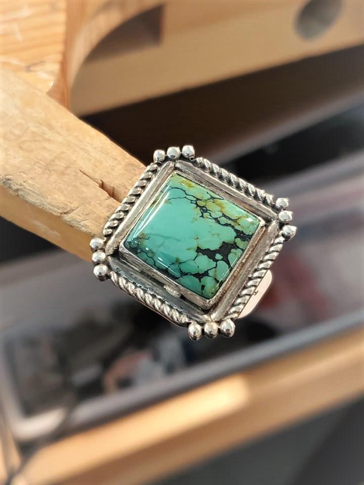 Navajo Ernest T. Bilagody Ring