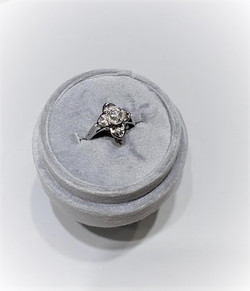 Antique Diamond Dinner Ring