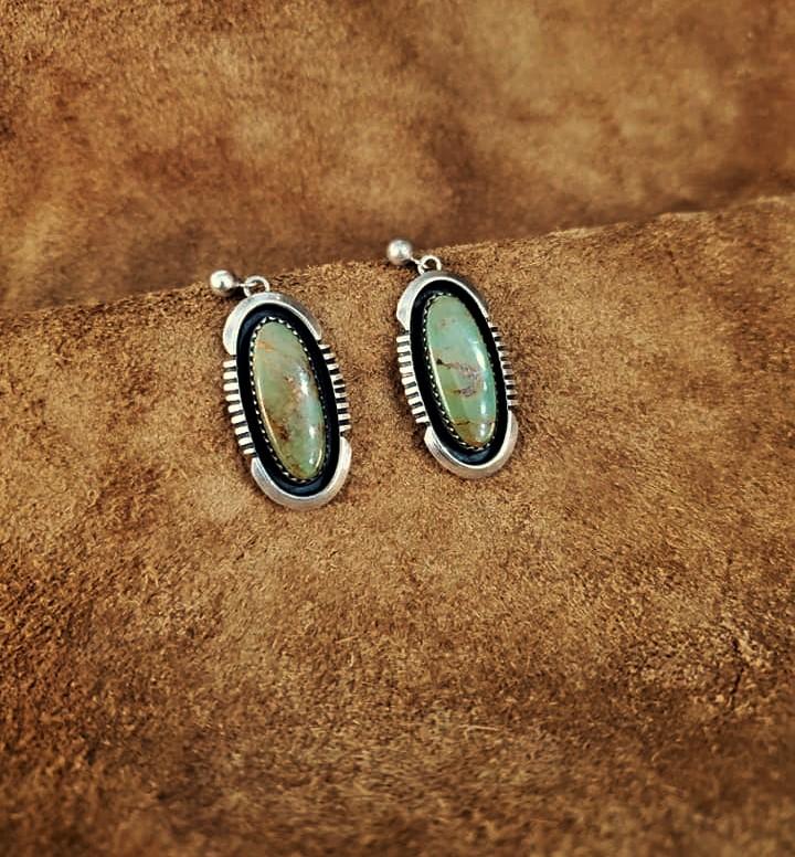 Navajo Kings Manassa Earrings