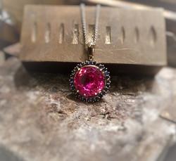 15mm Pink Sapphire Ceylon Sapphires