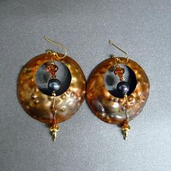 Copper with Swarovski Crystals