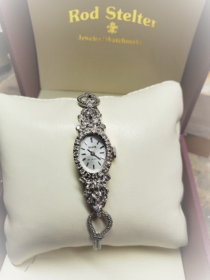 1ctw Elgin Diamond Watch