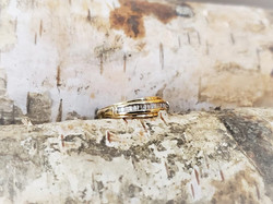 .25ctw Baguette Diamond Wedding Band