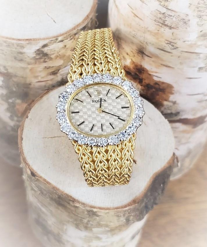 Ladies' Rolex 2.50ctw Diamond 18kt Gold