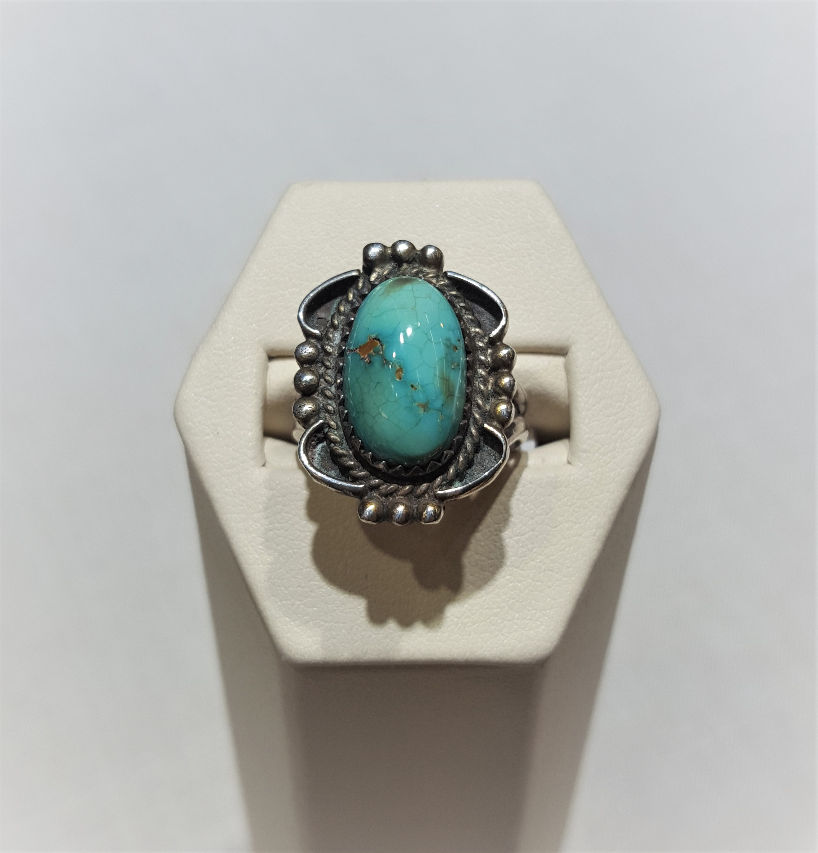 Johnny Frank Turquoise Ring
