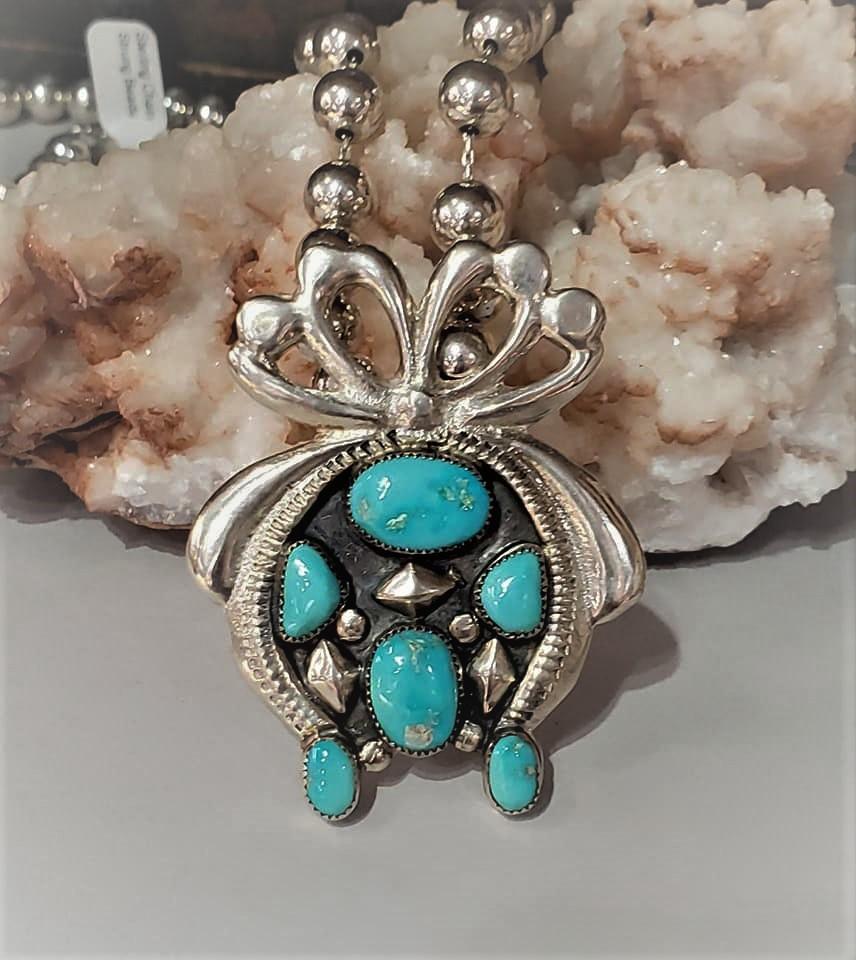 Horace Iule Turquoise Pendant