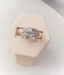 .50ctw Antique Engagement