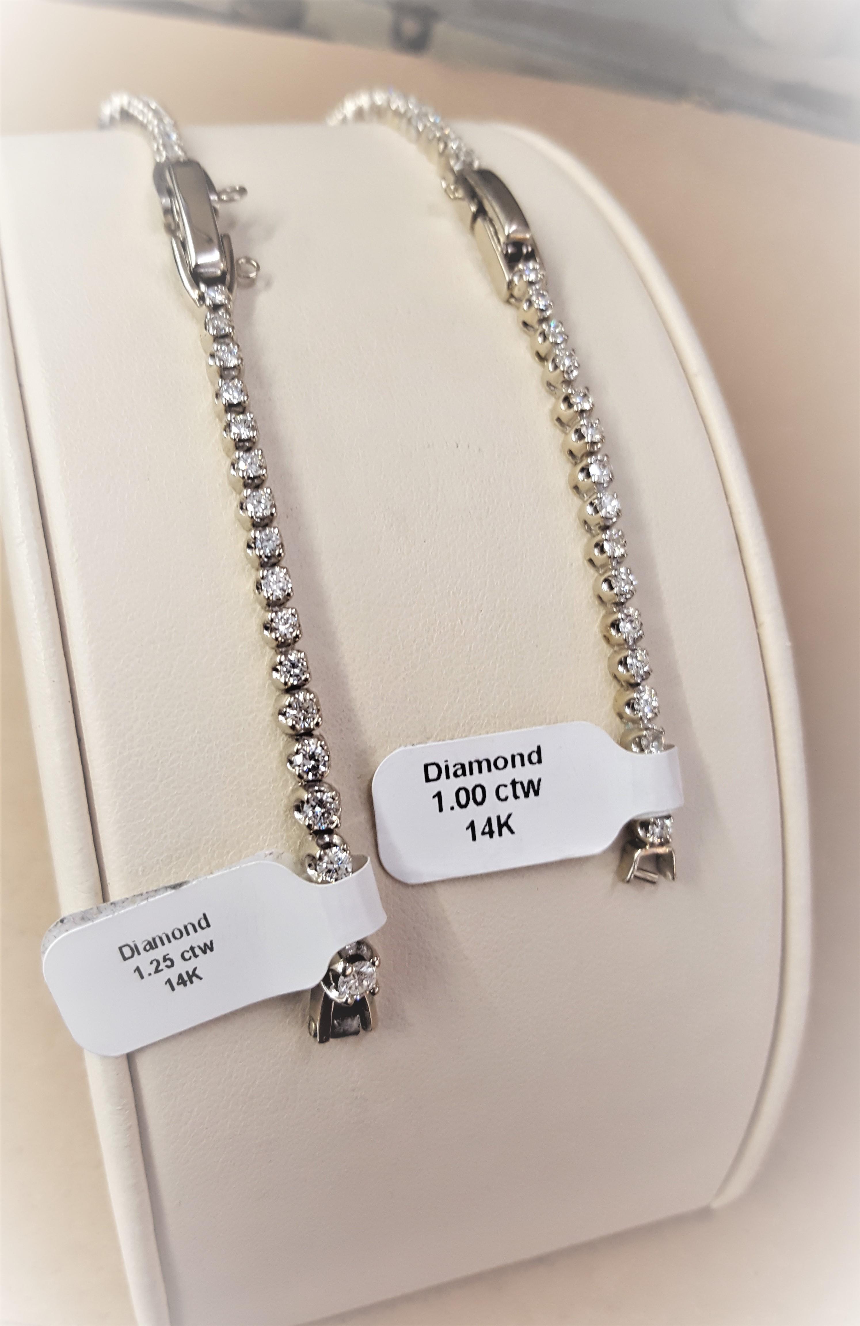 Estate Diamond Watch Bands