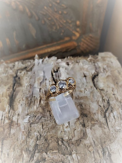 .75ctw 3-Stone Engagement Ring