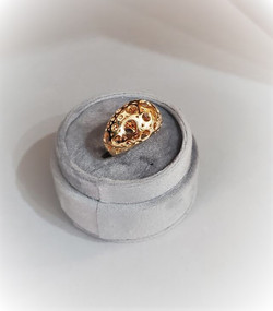 Open Work Dome Ring