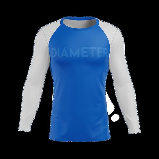 Blue Diameter Compression Shirt