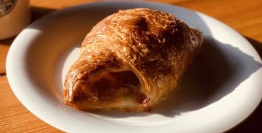Meat Croissant by Bread