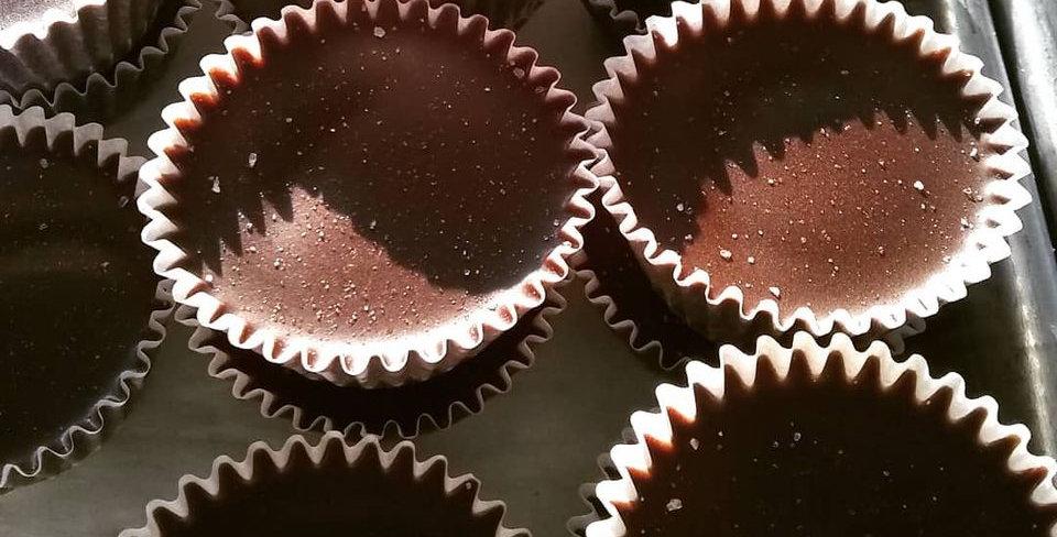 Oh Mi Organics Dulce De Leche chocolate cup