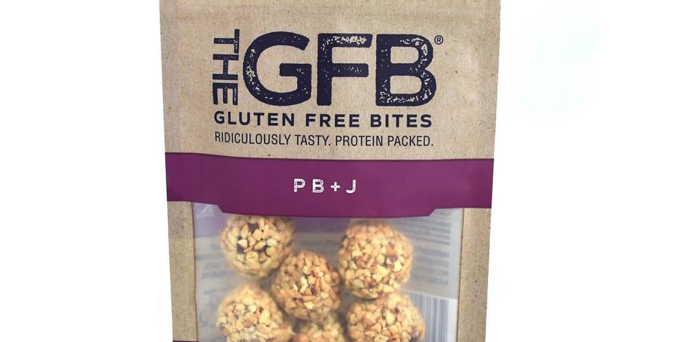 Gluten Free PB&J Bites