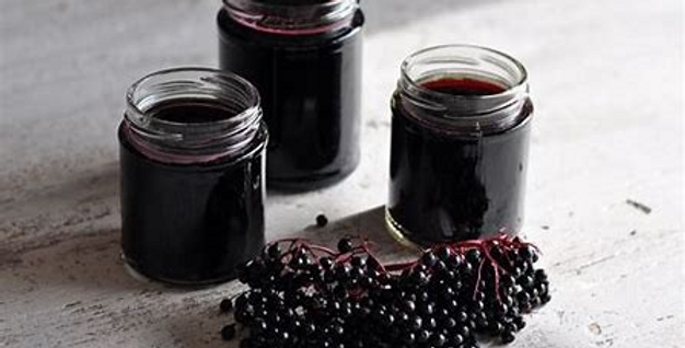 Elderberry Syrup Pint