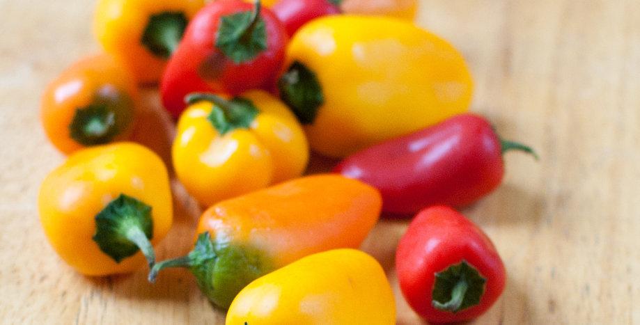 OG Mini Sweet Peppers 1lb