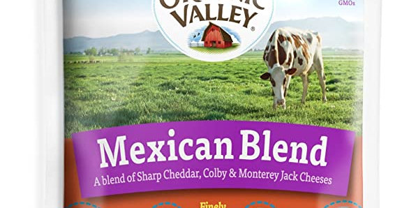 Organic Valley Mexican Shredded Cheese