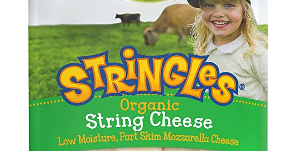 Organic Valley string cheese