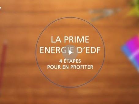 Tout savoir sur la Prime énergie d'EDF !