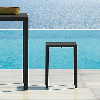 QUADRA TABOURET TABLE ANTHRACITE