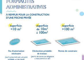 Les formalités administratives À REMPLIR LORS DE LA CONSTRUCTION D'UNE PISCINE