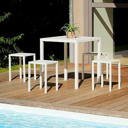 QUADRA TABLE BLANC