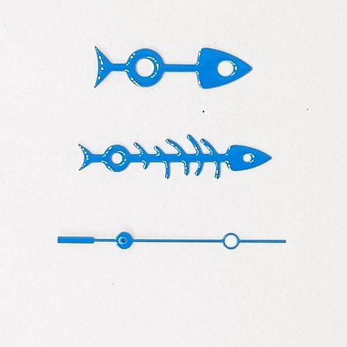 Neon Blue Fishbone Set + Brequet SS