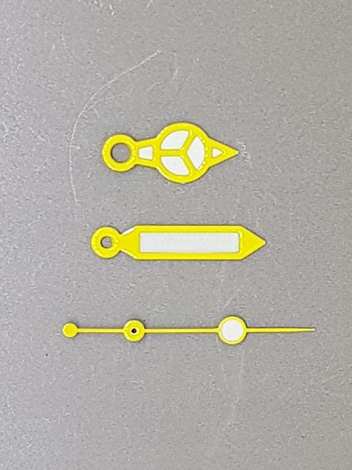 Yellow Fat Mercedes Set + Small Lollipop SS