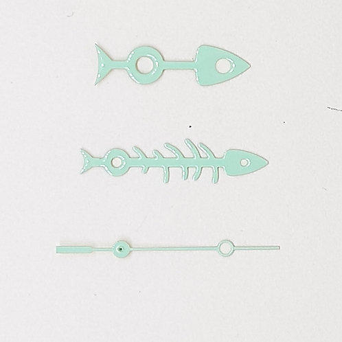 Mint Green Fishbone Set + Brequet SS