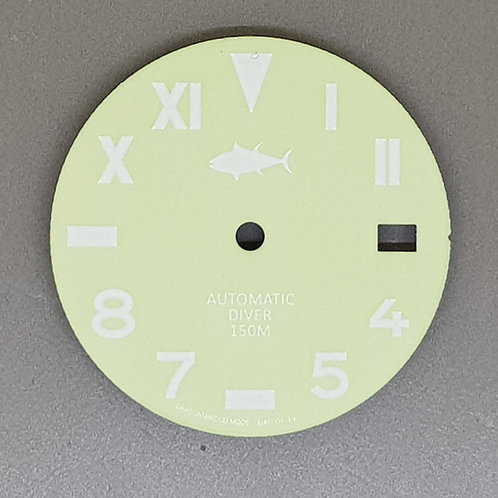 7002 California Dial - Glow in the Dark