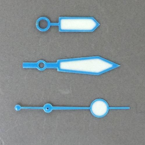 Set #45 Neon Blue Plongeur Set + Lollipop SS