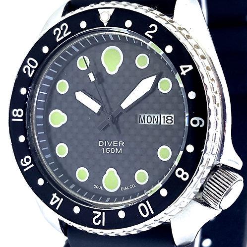 6309 Seiko Diver Custom Modded Watch