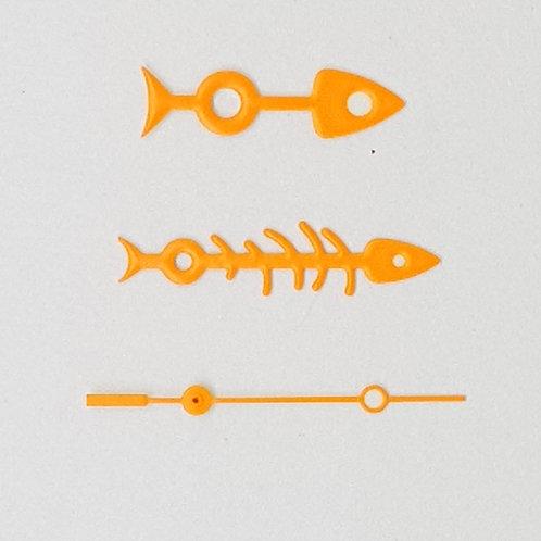 Neon Orange Fishbone Set + Brequet SS