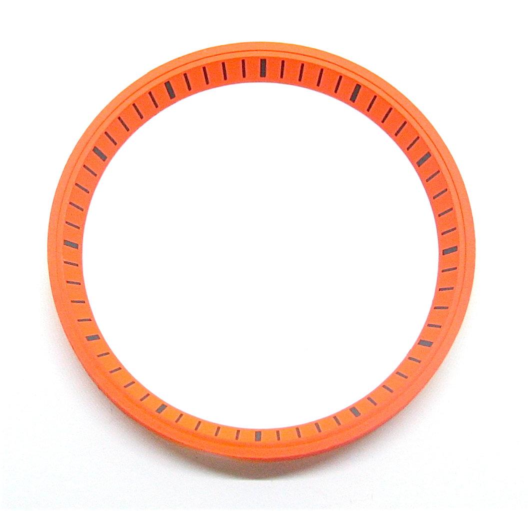 New Diver 7002-7020 Black CHAPTER RING SET 7029 Modified Orange DIAL HANDS