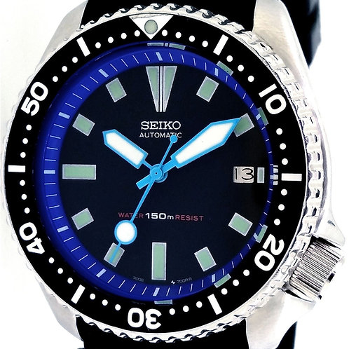 7002 Seiko Diver Custom Modded Watch