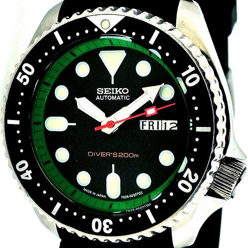 7s26 Seiko Diver Custom Modded Watch