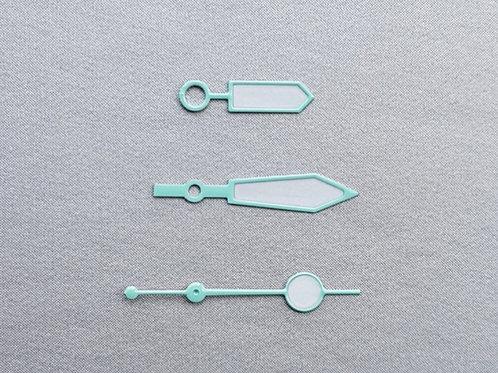 Mint Green Plongeur Hand Set & Lollipop SS