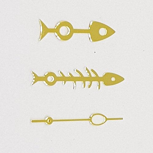 Gold Fishbone Set + Egg SS