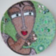 Spanish Lady mosaic