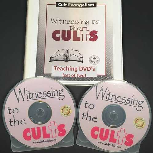 Witnessing to the Cults Teaching DVD (set of two)