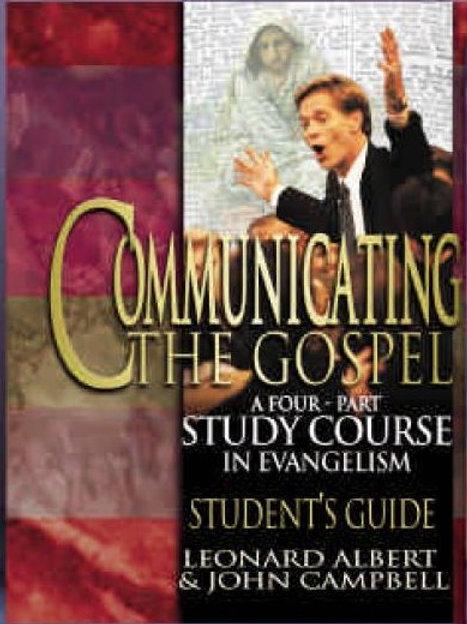 Communicating the Gospel Student's Guide