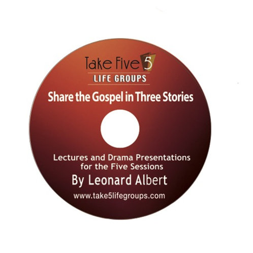 Share the Gospel in Three Stories Teaching DVD
