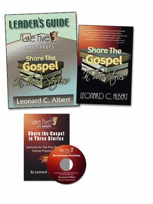 Share the Gospel in Three Stories Leader's Pak