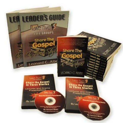 Share the Gospel in Three Stories Bundle
