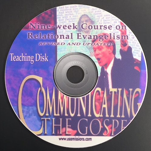 Communicating the Gospel Teaching CD ROM