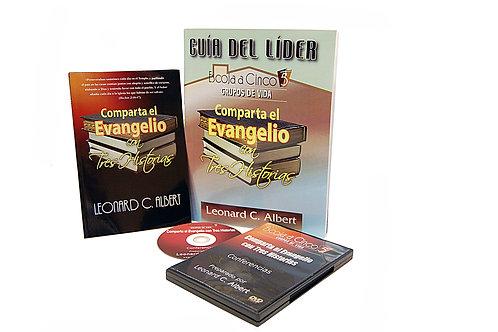 Share the Gospel in Three Stories Leader's Pak (Spanish)