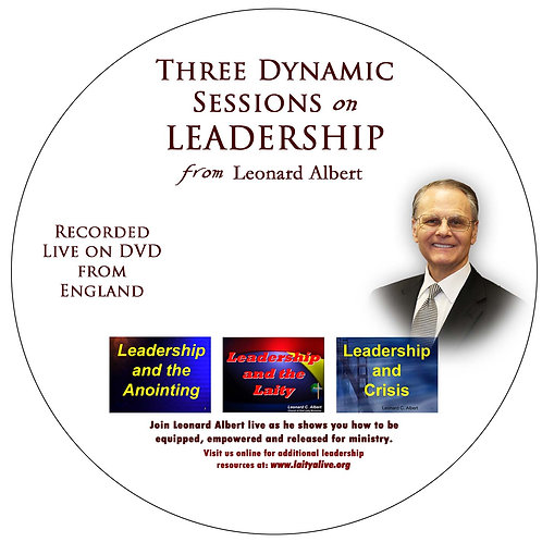 Three Dynamic Sessions on Leadership DVD (three sessions in one!)
