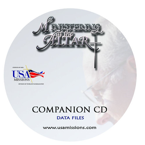Ministering at the Altar Lecture Notes and PowerPoint Compnion CD ROM